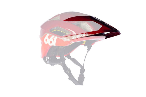 EVO AM VISOR MATADOR RED OS