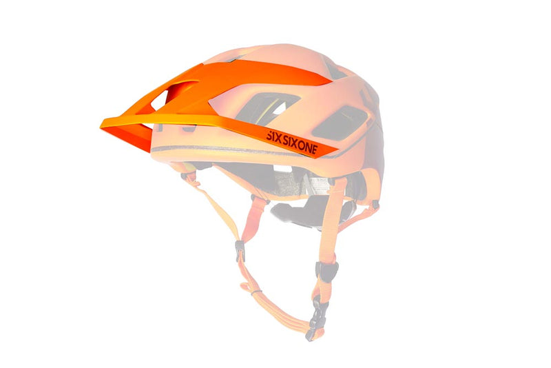 EVO AM PATROL VISOR AUTUMN ORANGE OS
