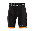 EVO COMPRESSION SHORT WITH CHAMOIS BLACK