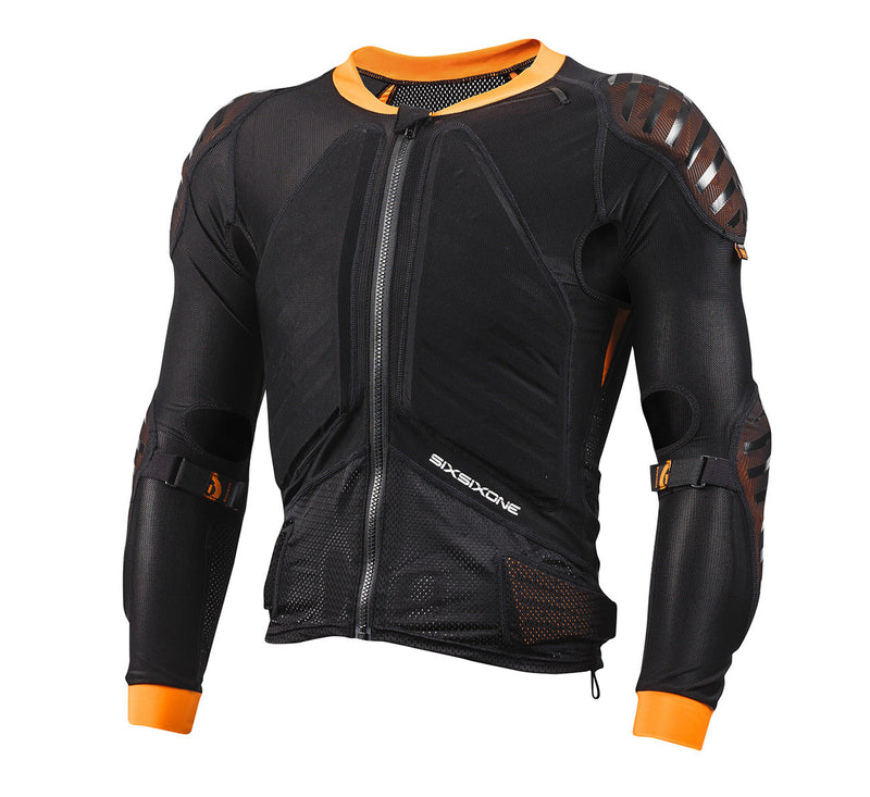 EVO COMPRESSION JACKET LONG SLEEVE BLACK
