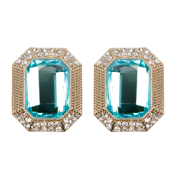 ANIA Bright Aqua Jewel Earrings