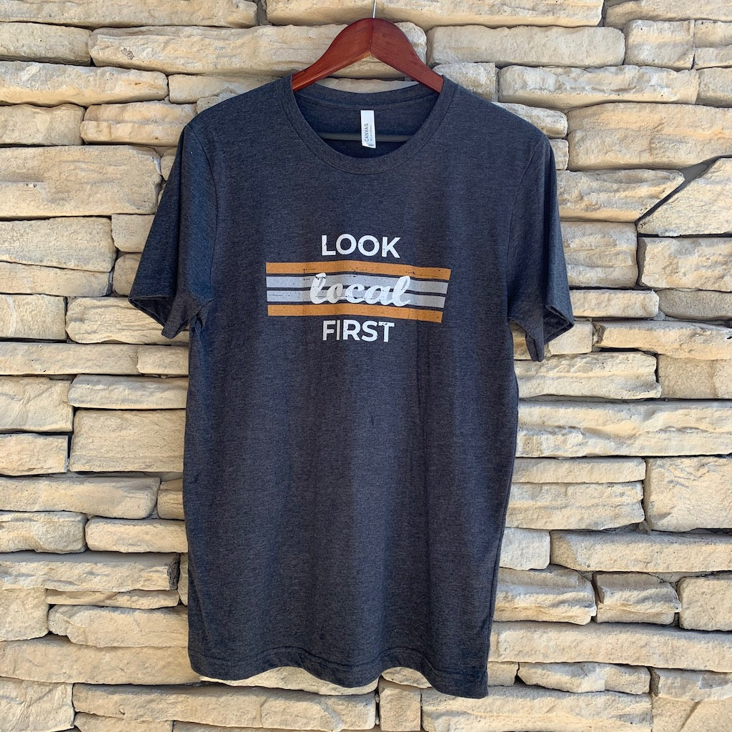 Look Local First - retro