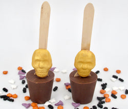 Skull Hot Chocolate Spoons