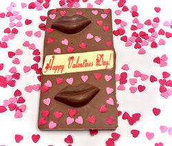 Happy Valentines Day Large Belgian Chocolate Bar