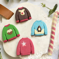 Chocolate Christmas Jumpers Set