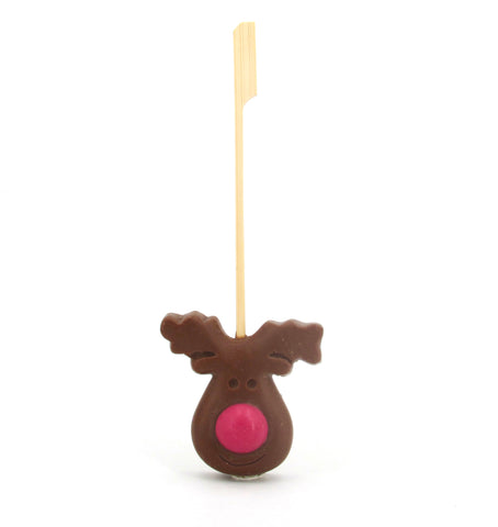 Handmade Reindeer Hot Chocolate Stirrer