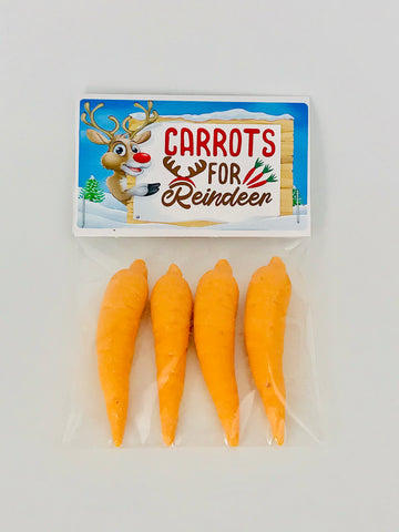 Chocolate Carrots For Santa's Reindeers