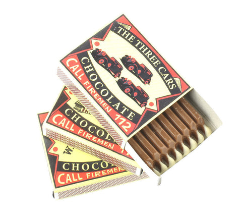 Belgium Chocolate Retro Style Matches