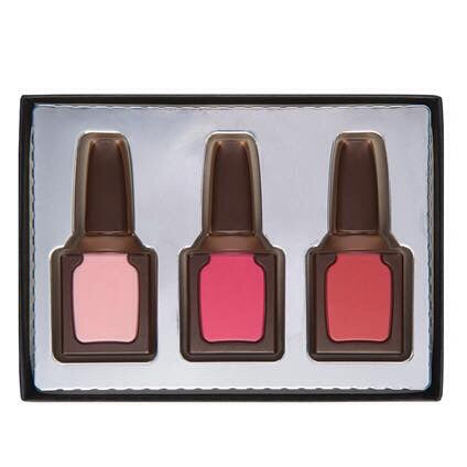 Milk Chocolate Nail Varnish Gift Set