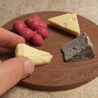 Solid Chocolate Cheese Board