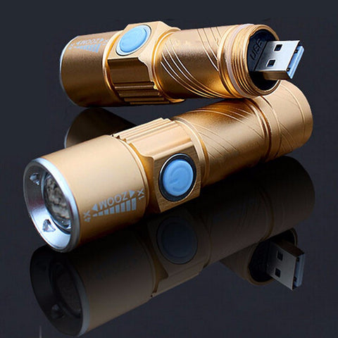 LED Flashlight - 800 Lumens