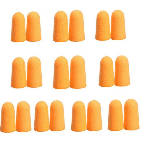 Soft Ear Plugs, 10 Pairs