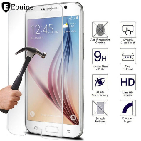 Tempered Glass Cover for Samsung