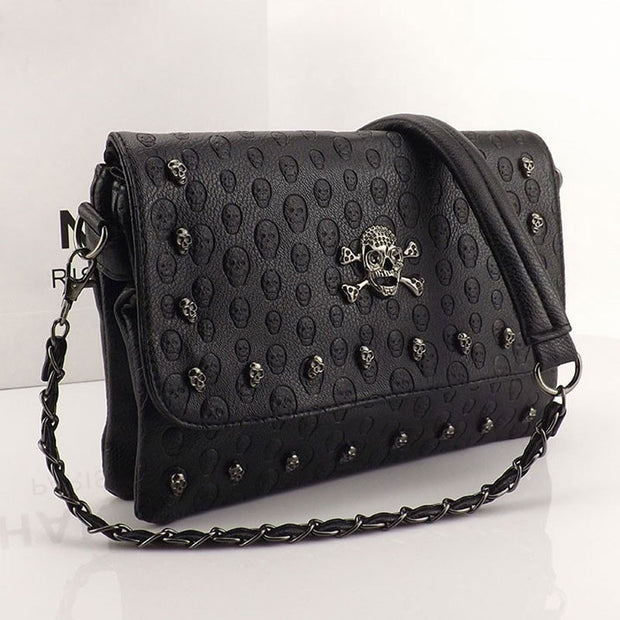 Skull Women Messenger Bags