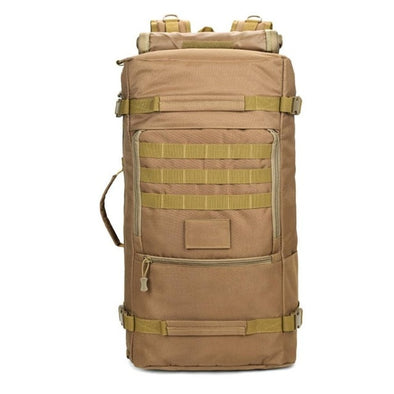 60L Tactical Backpack Sand