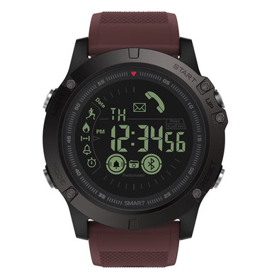 Smart Watch tactical iOS/Android Burgundy