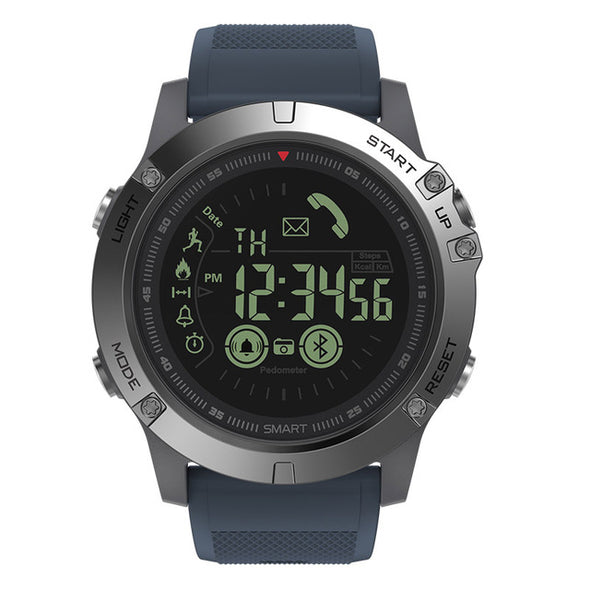 Smart Watch tactical iOS/Android Blue