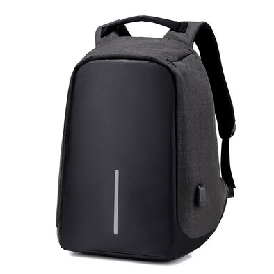 TACTICAL BACKPACK X9 ANTITHEFT WITH USB CHARGER Black