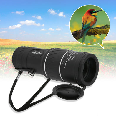 30x52 Dual Focus Zoom Optic Lens Monocular Telescope