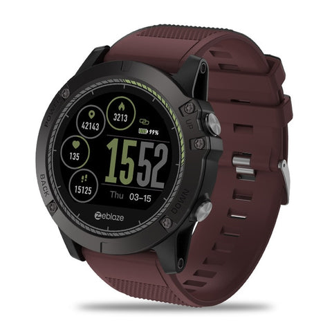 [In Stock] Smart Watch Táctico EVO Red