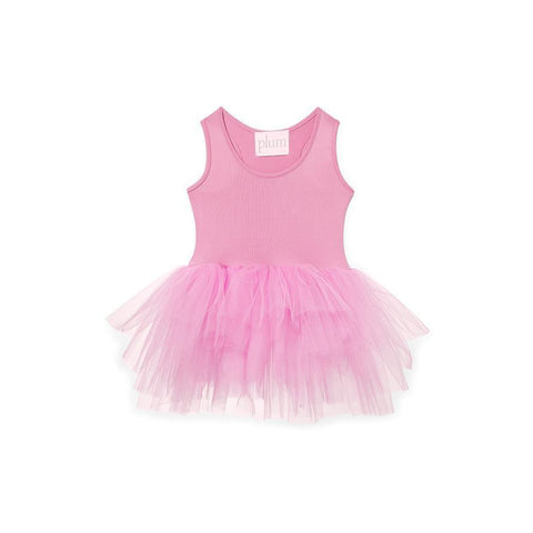 I Love Plum Dresses 6-12 Months I LOVE PLUM - BAE Tutu Dress - Penelope Pink