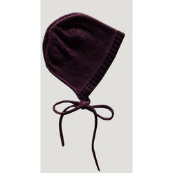 Jamie Kay Accessories 0-3 Months Jamie Kay - Bonnet - Mulberry