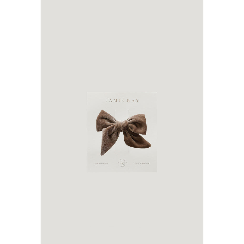 Jamie Kay Accessories Fawn Jamie Kay - Harper Velvet Bow - Multiple Colours