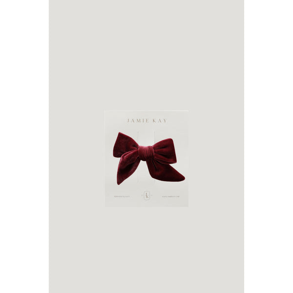 Jamie Kay Accessories Rosewood Jamie Kay - Harper Velvet Bow - Multiple Colours