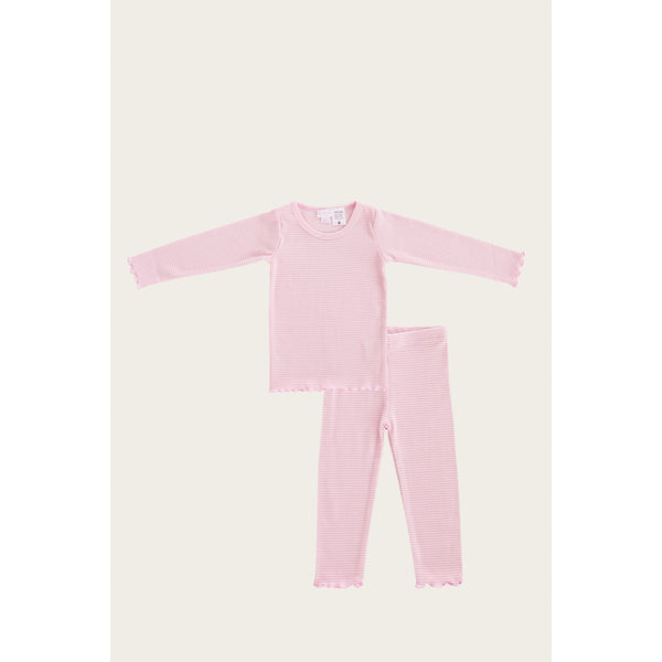 Jamie Kay Bottoms Jamie Kay - Pyjama Set - Bubblegum Stripe