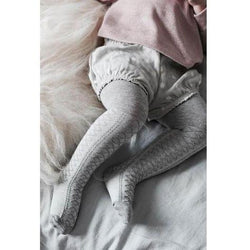 Jamie Kay Socks & Tights Jamie Kay - Vintage Lace Tight - Grey