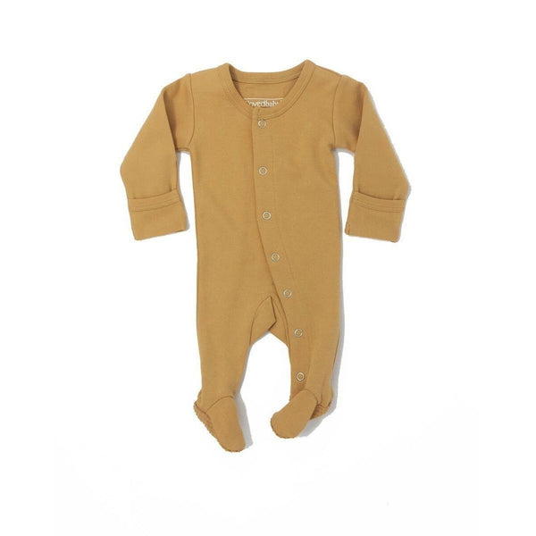 Loved Baby One Piece Lovedbaby - Organic Footed Overall - Honey