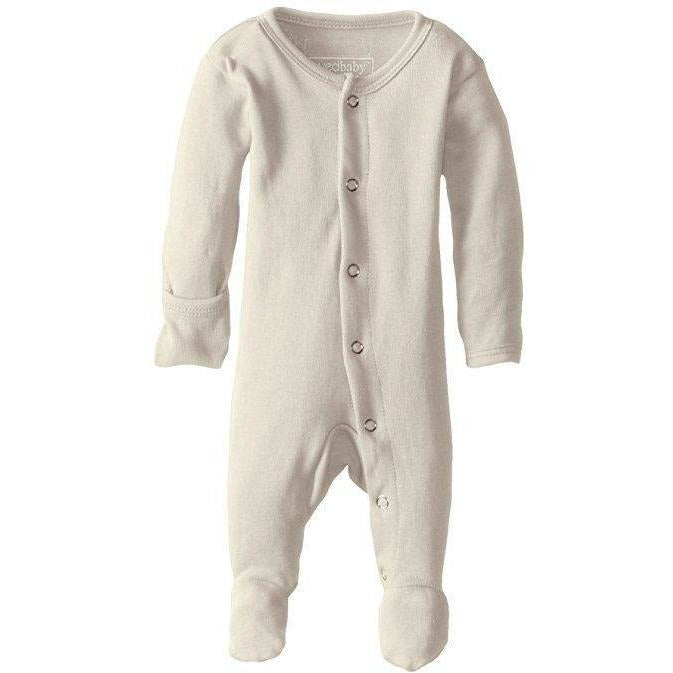 Loved Baby One Piece PREORDER - Lovedbaby - Organic Footed Overall - Beige