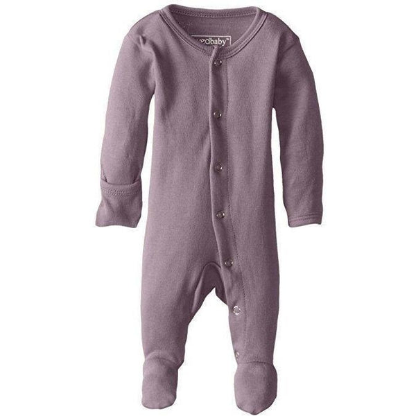 Loved Baby One Piece PREORDER - Lovedbaby - Organic Footed Overall - Lavender