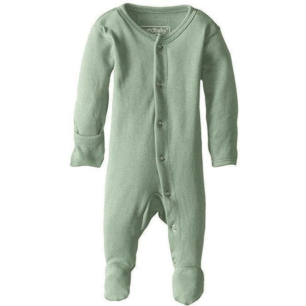 Loved Baby One Piece PREORDER - Lovedbaby - Organic Footed Overall - Seafoam