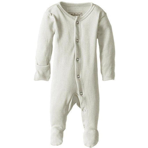 Loved Baby One Piece PREORDER - Lovedbaby - Organic Footed Overall - Stone