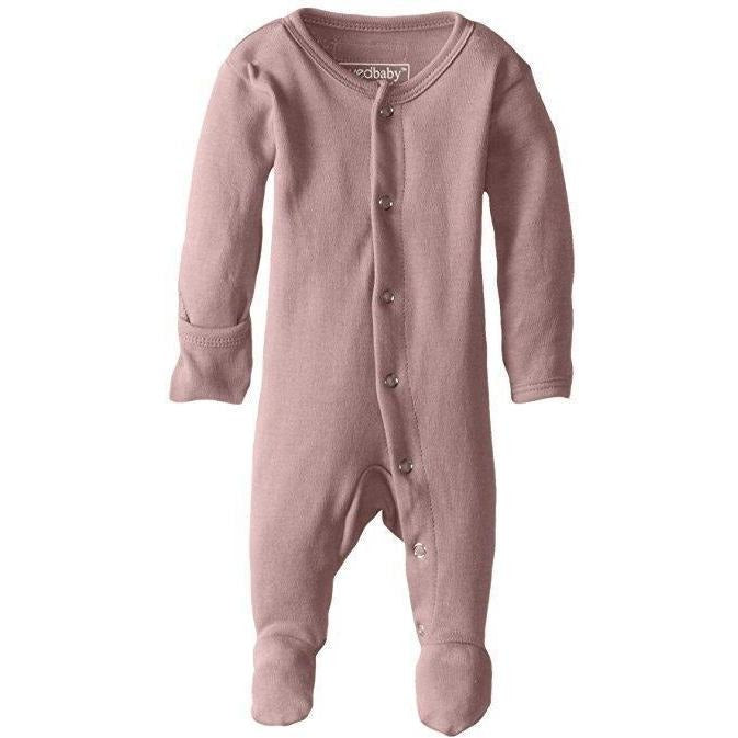 Lovedbaby One Piece PREORDER - Lovedbaby - Organic Footed Overall - Mauve