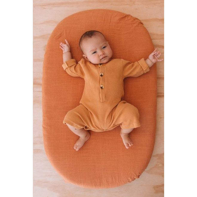 Lullaby Club Baby Essentials Default Title Bassinet Sheet - Marmalade