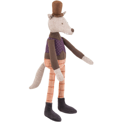 Moulin Roty Toys Mini Gentleman Wolf