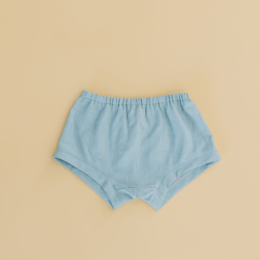Velvet & Honey Bottoms Classic Collection - Linen Ease Shorts - Yellow