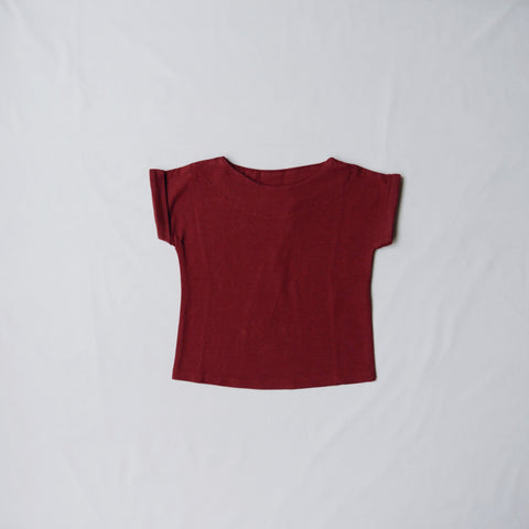 Velvet & Honey Tops 0-3 Months / Rhubarb CLEARANCE - Joker Tee - 6 Colours