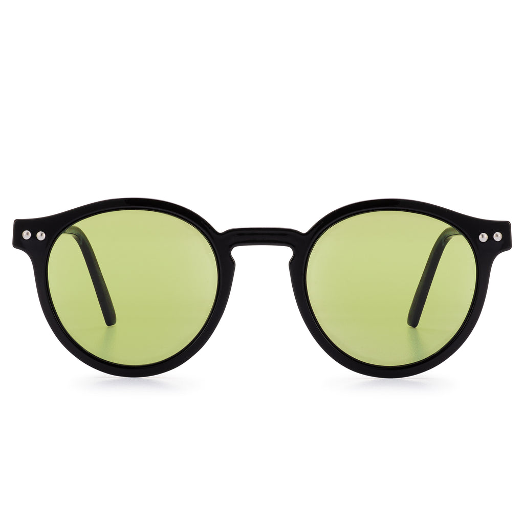Brit Summer Sunglasses, Black/Olive