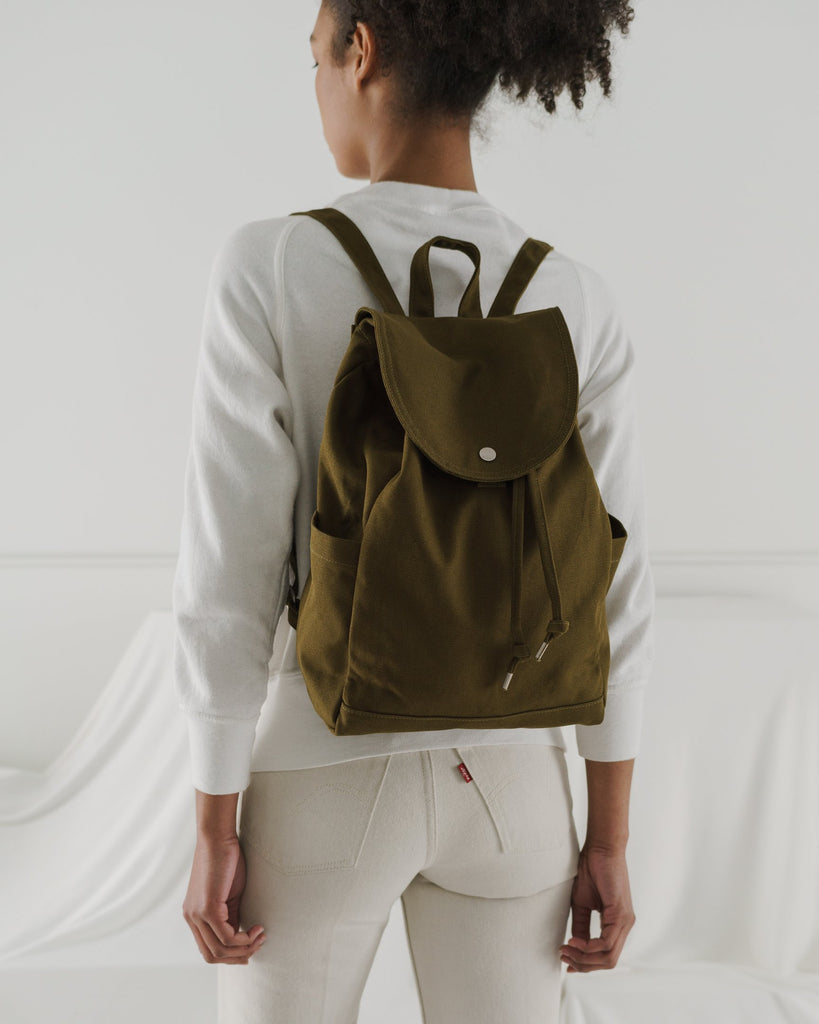 Drawstring Backpack, Kelp