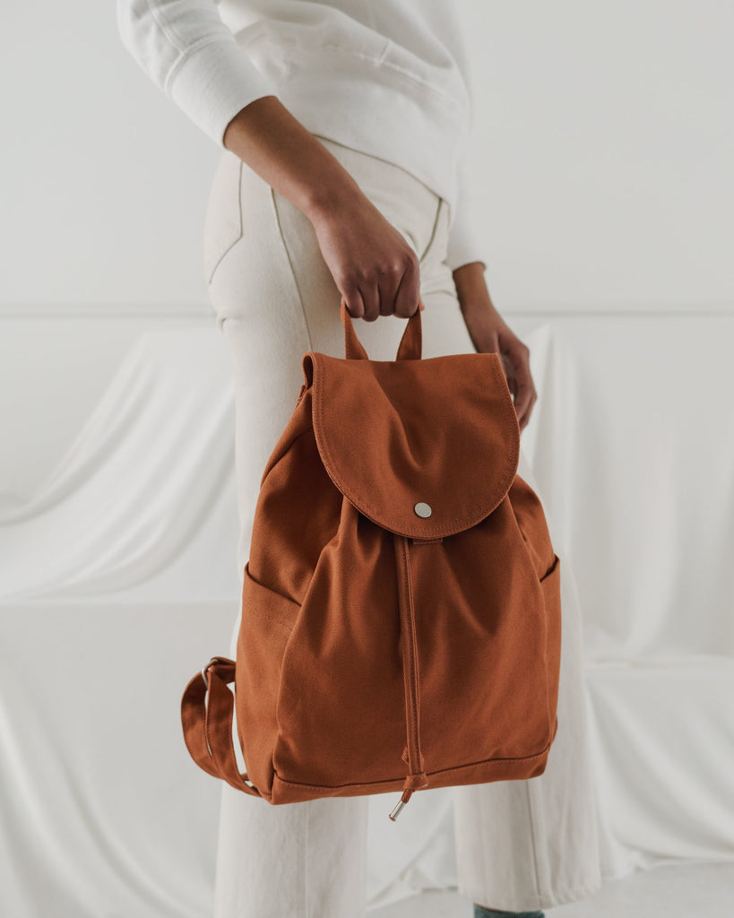 Drawstring Backpack, Umber