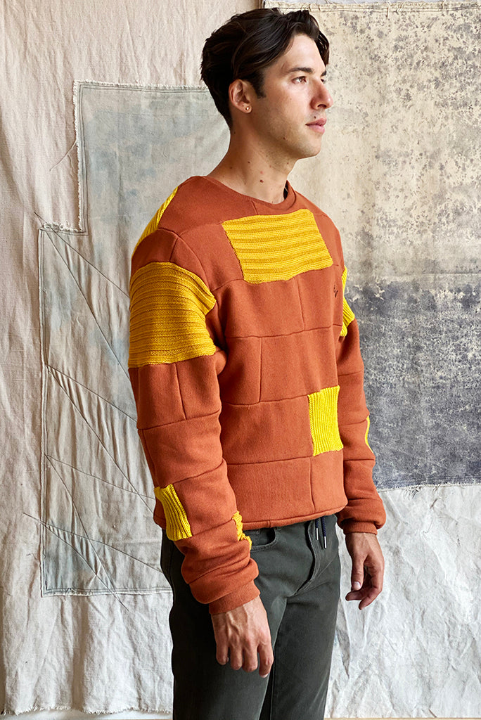 ELAN VITAL SWEATER 0002 ORANGE