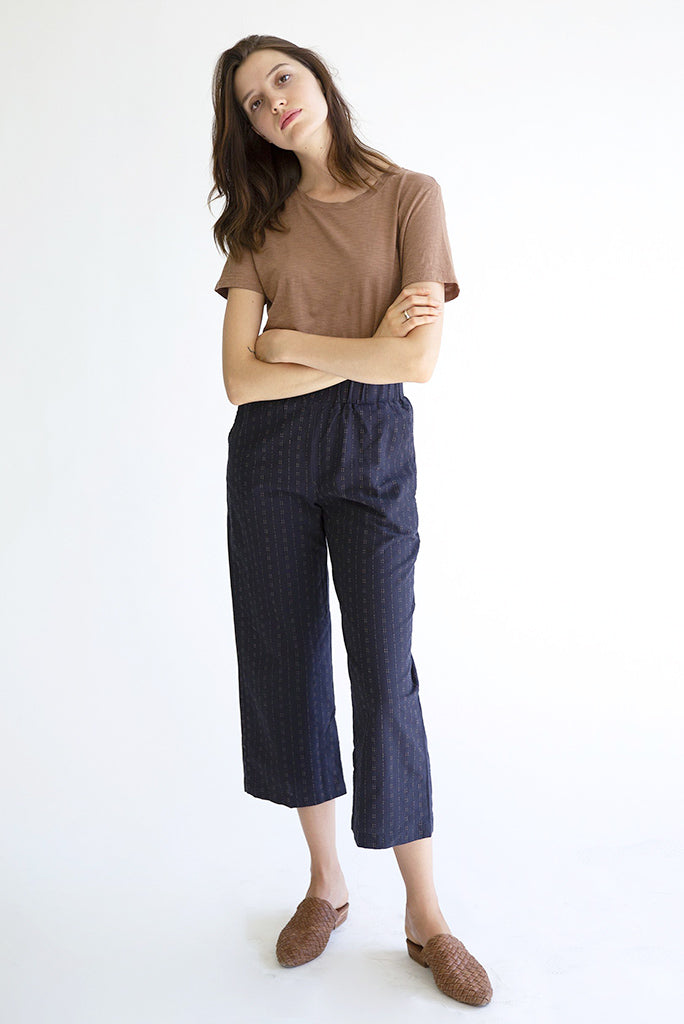 IT IS WELL Slash Pocket Crop Pant