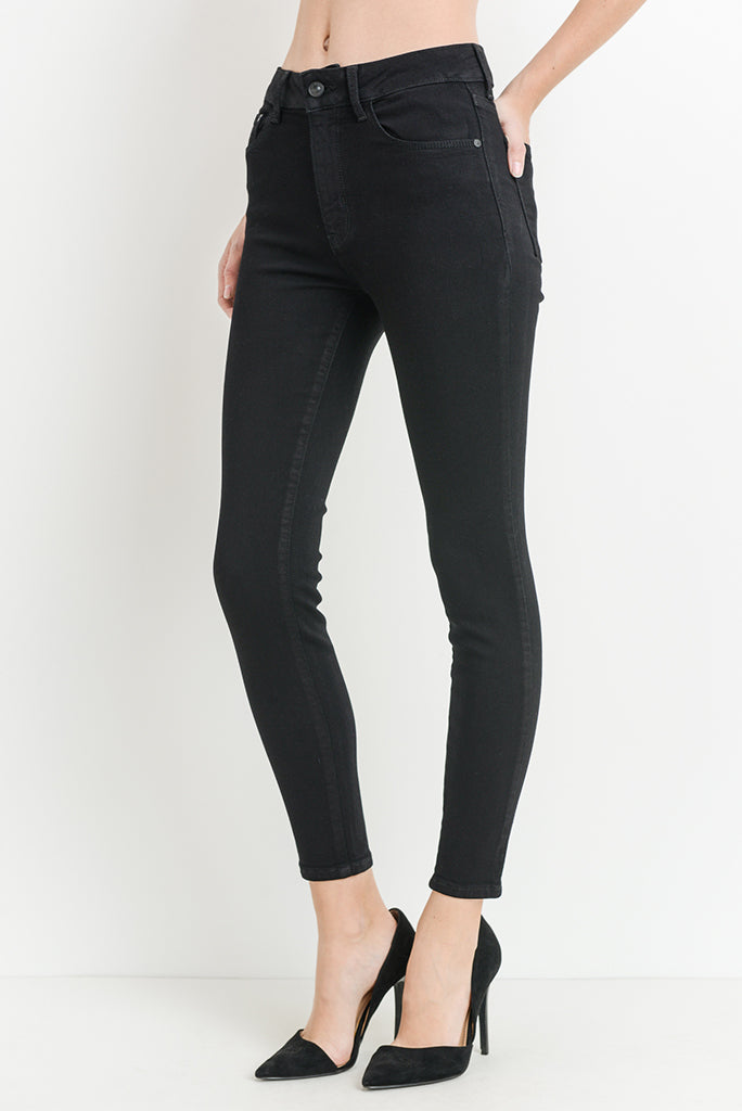 JBD HIGH RISE SKINNY BLACK