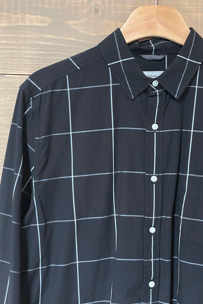 LIFE AFTER DENIM WINDOWPANE SHIRT