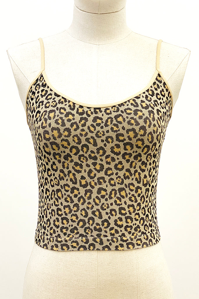 Shop the leopard cami top at ALTER, home to curated indie designer brands from around the world. Our seamless cropped camis include available free shipping.