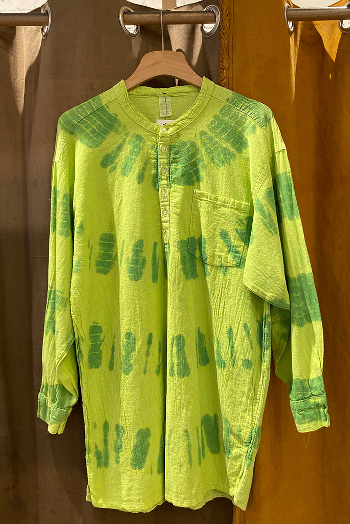 Overdyed Pilgrim Shirt, Green