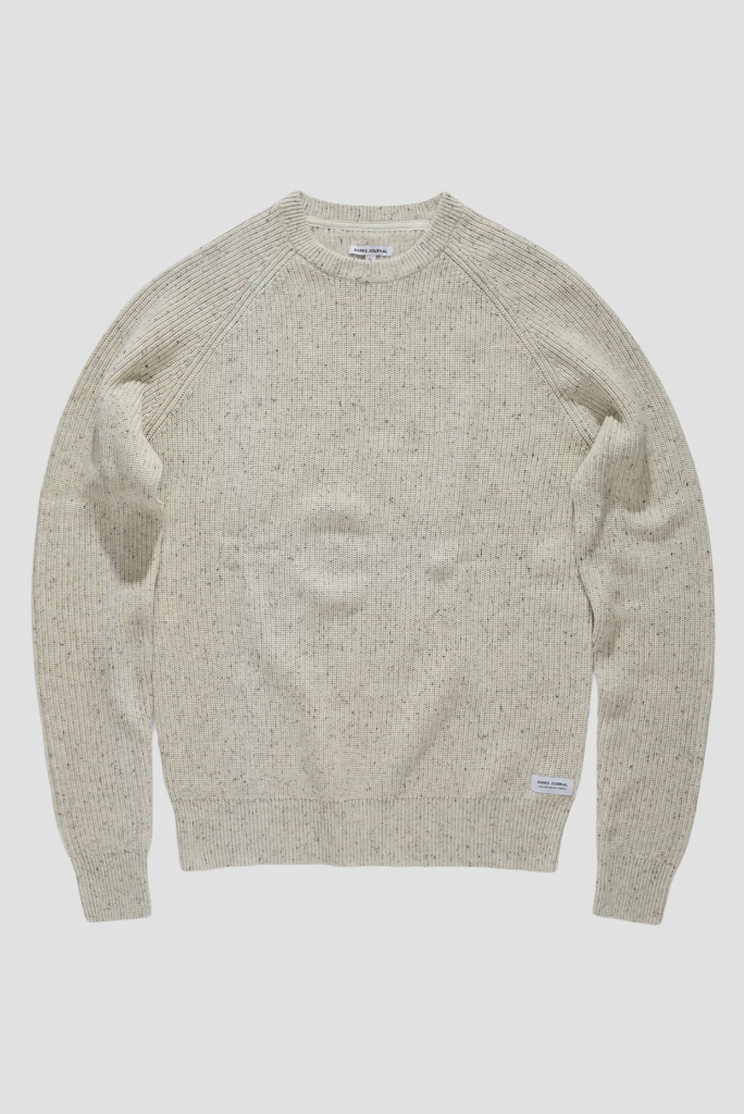 BANKS WHITE NOISE SWEATER, BONE